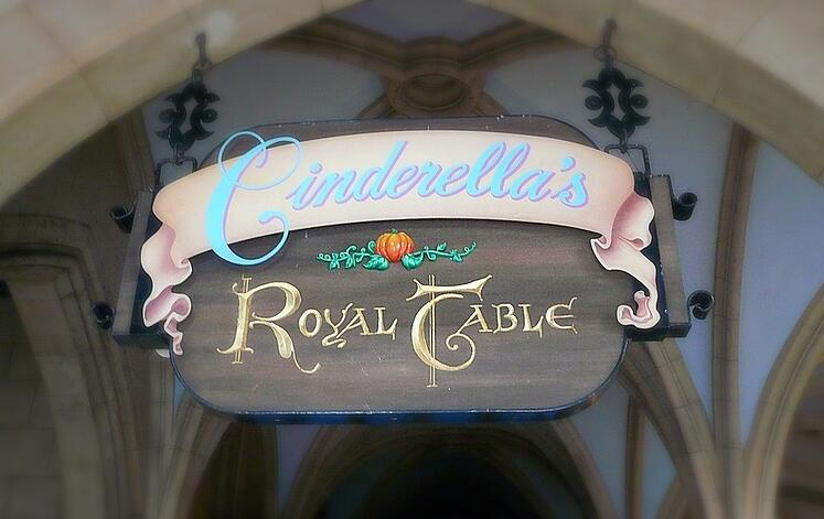 Cinderella's Royal Table at Magic Kingdom
